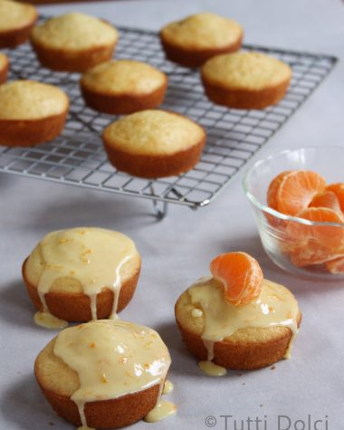 Tangerine Vanilla Tea Cakes