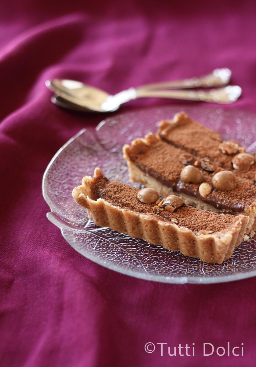 Chocolate-Hazelnut Tart | Tutti Dolci