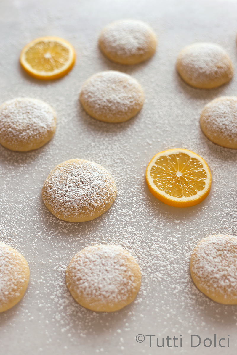 Meyer Lemon Cloud Cookies | Tutti Dolci