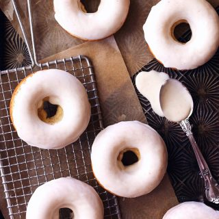 spice doughnuts with brown butter glaze