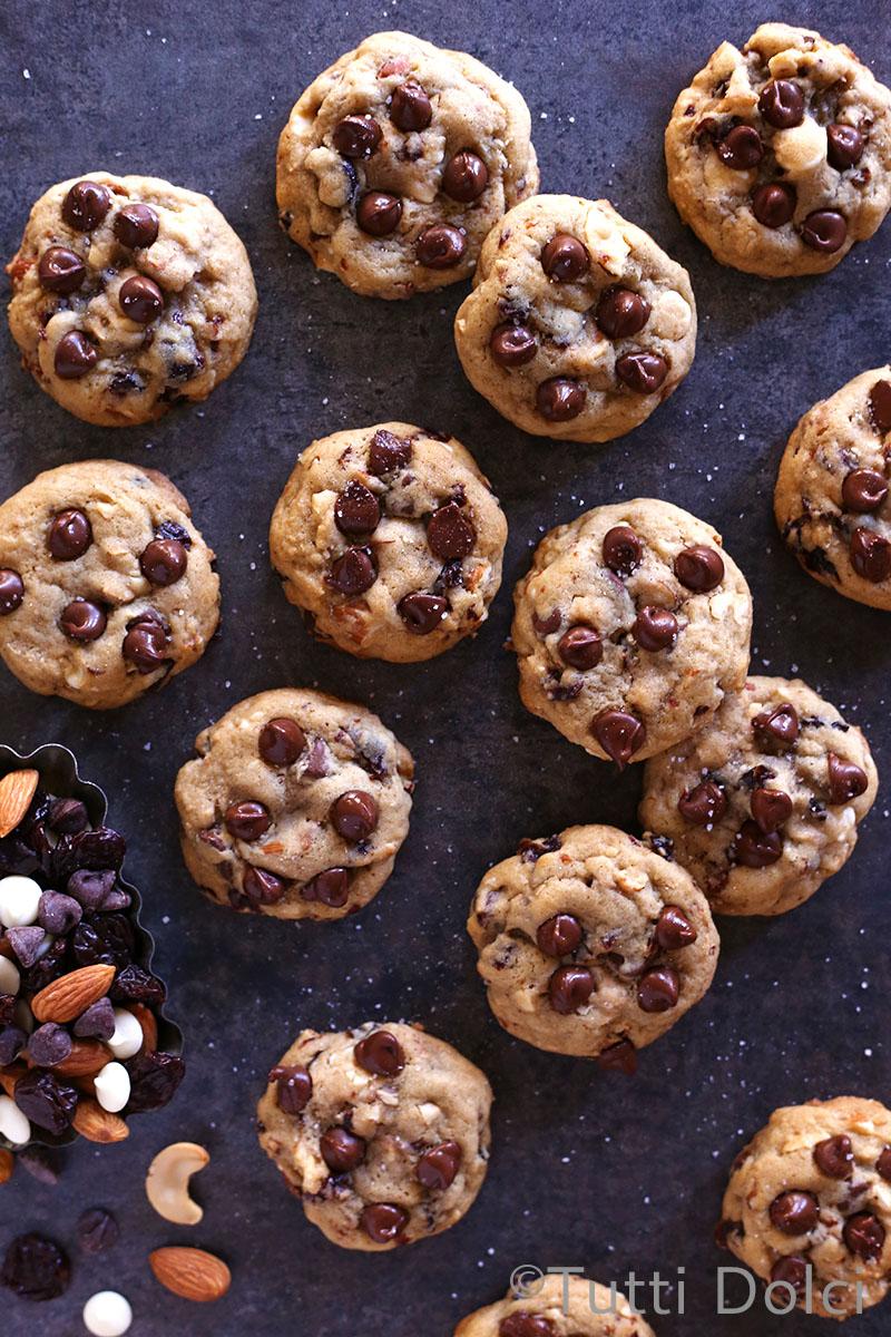 Trail Mix Cookies | Tutti Dolci