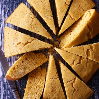brown butter maple cornbread