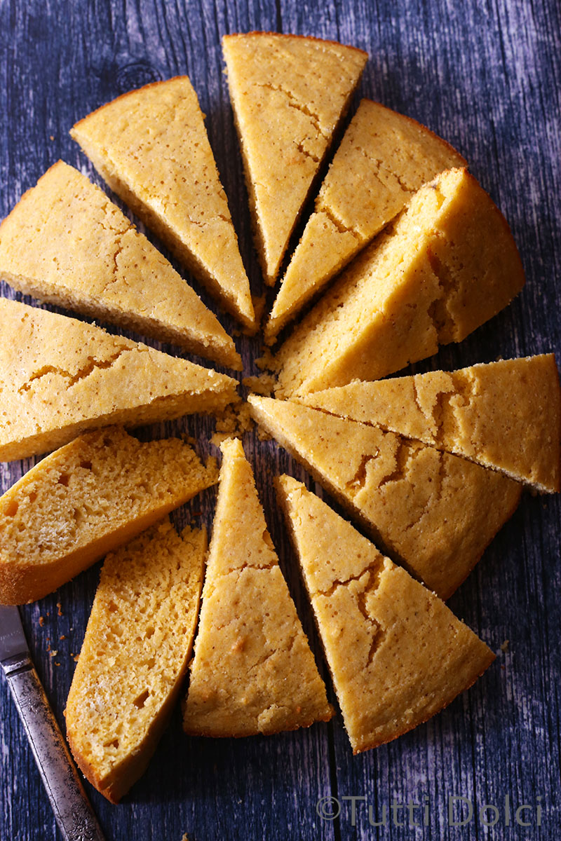 Brown Butter Maple Cornbread | Tutti Dolci