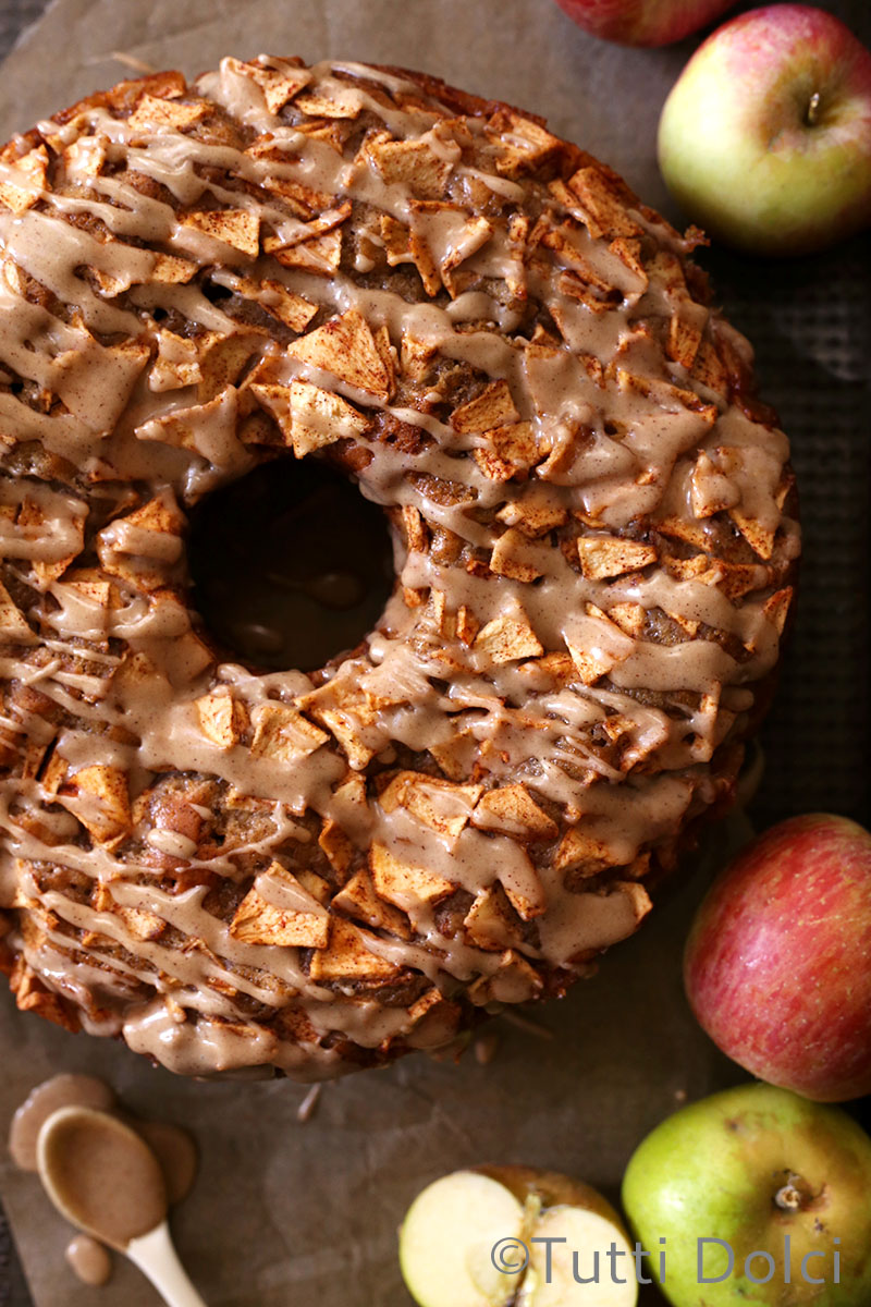 Fresh Apple Cake | Tutti Dolci