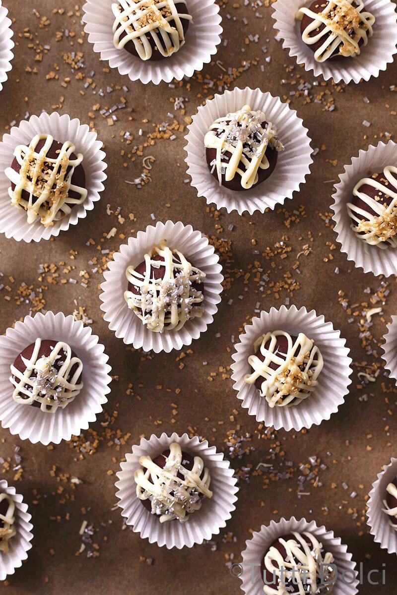 Chai Rum Truffles