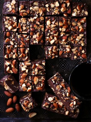 Mocha Almond Fudge