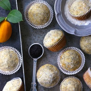 meyer lemon poppy seed muffins