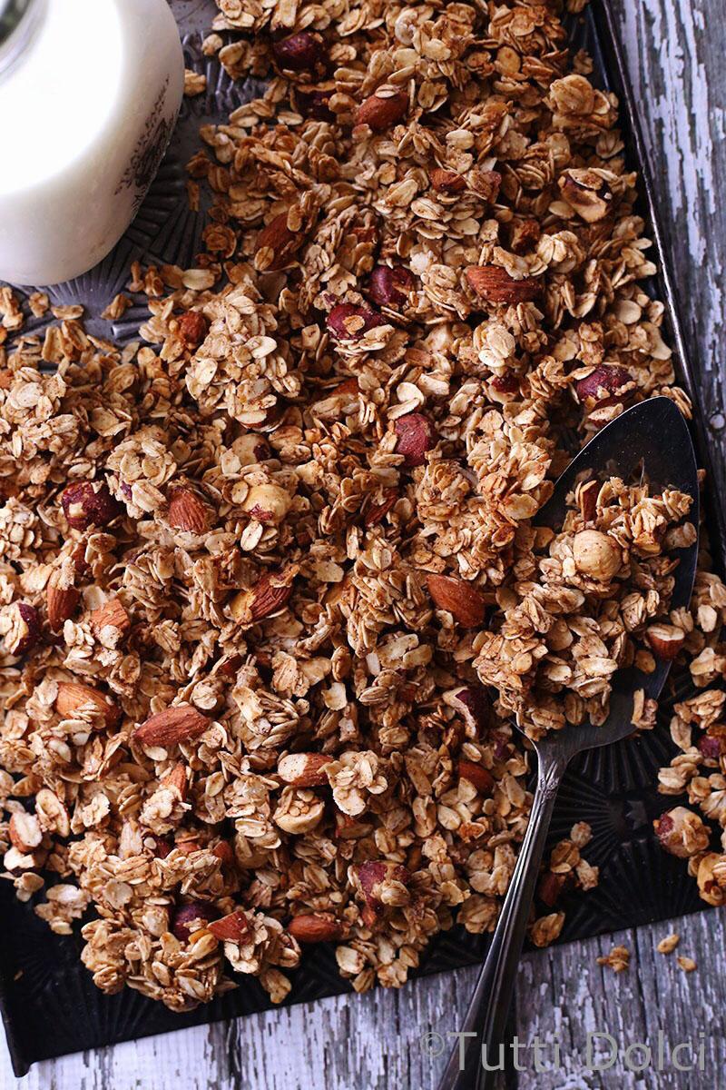 Chai Spice Granola | Tutti Dolci