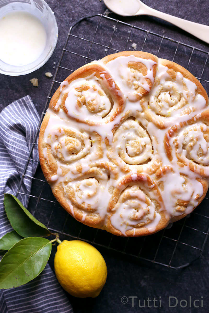 Almond-Lemon Rolls | Tutti Dolci