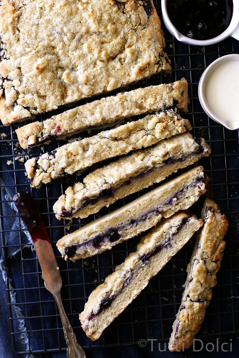Cream and Vanilla Bean Scones with Jam | Tutti Dolci