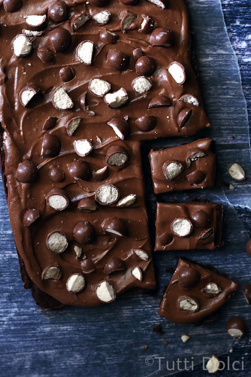Malted Brownies   Tutti Dolci