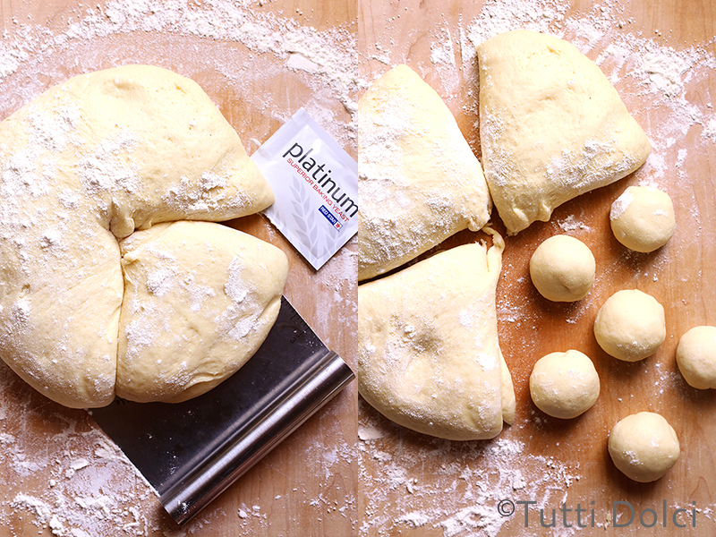Peach Pull-Apart Bread | Tutti Dolci