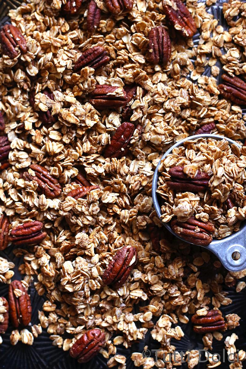Maple Pecan Granola | Tutti Dolci