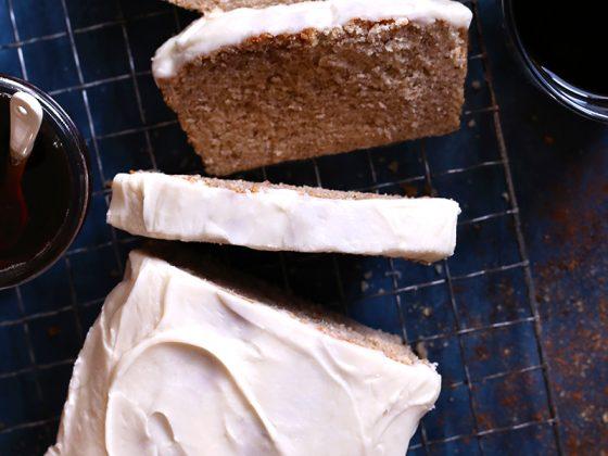 Maple Spice Pound Cake