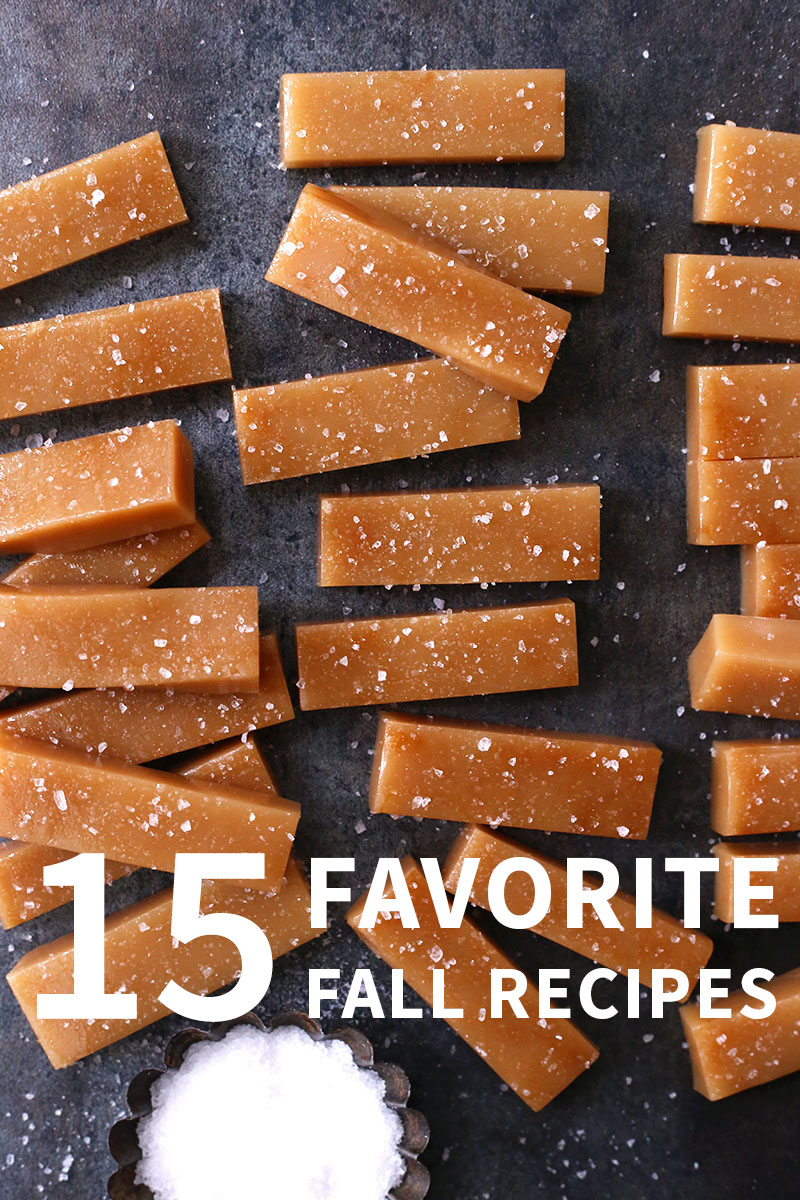 15 Favorite Fall Recipes