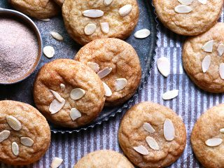 Almond Snickerdoodles