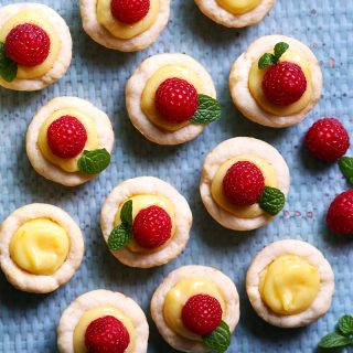 meyer lemon tartlets