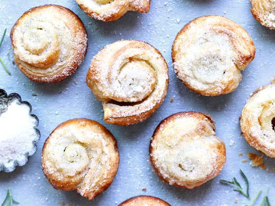 Lemon Lavender Morning Buns