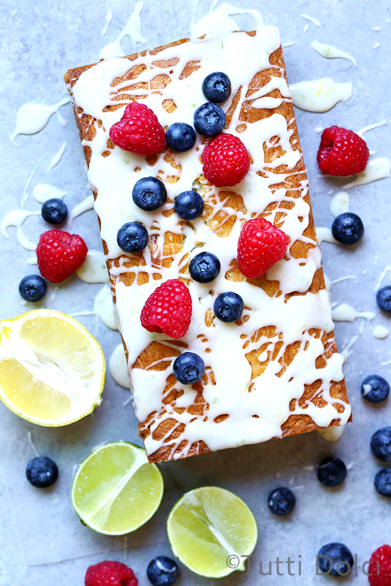 Citrus Berry Tea Cake
