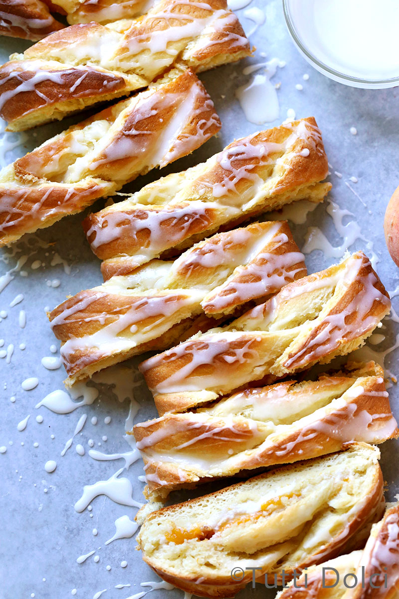 Peach Danish Braid