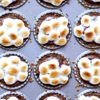s'mores tartlettes + a giveaway
