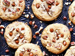 Cinnamon Chip Pecan Cookies