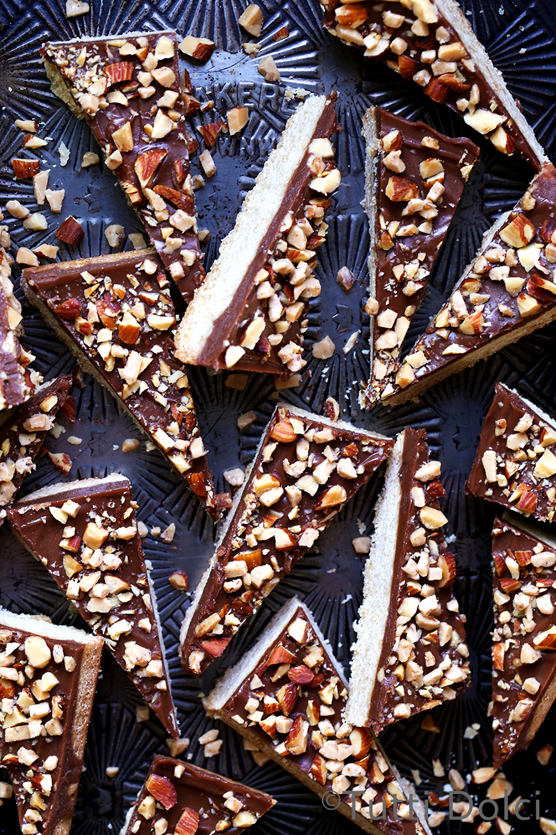 Mascarpone Chocolate Toffee Bars