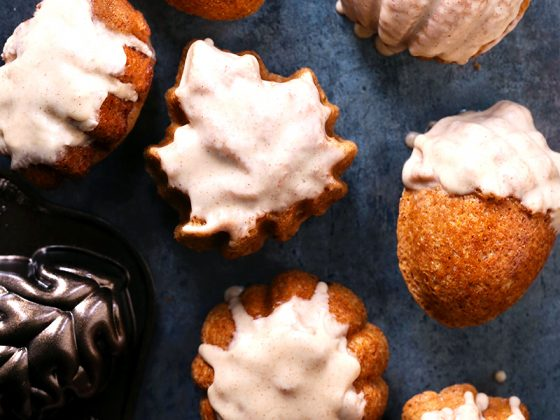Brown Butter Bourbon Spice Cakelets