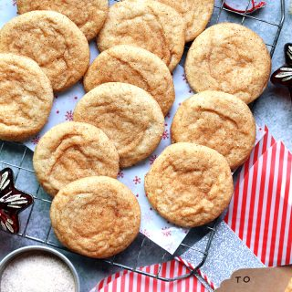 brown butter chai snickerdoodles