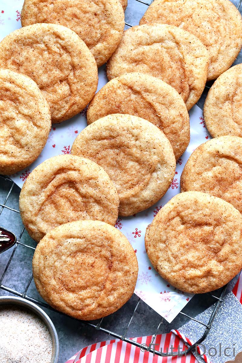 Brown Butter Chai Snickerdoodles