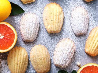Citrus Madeleines