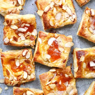 apricot breakfast pastries