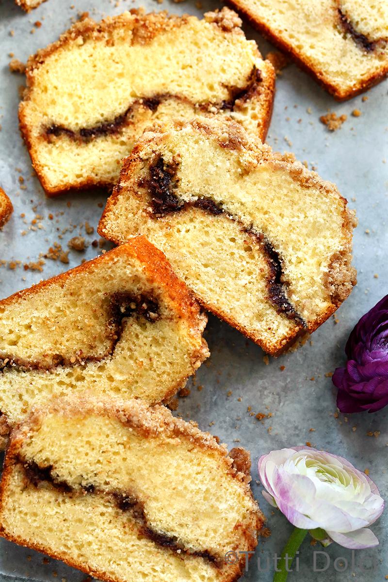 Cinnamon Sugar Crumb Cake