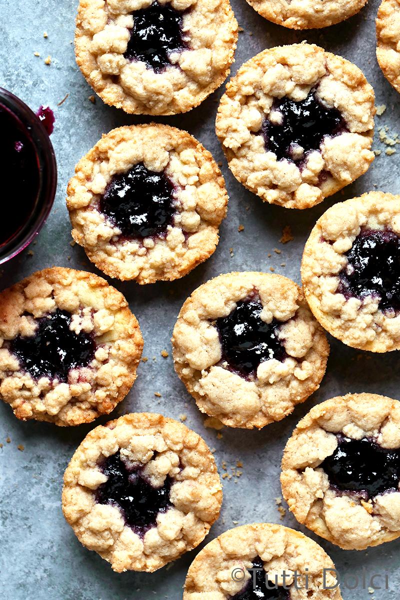Jam Butter Cookies