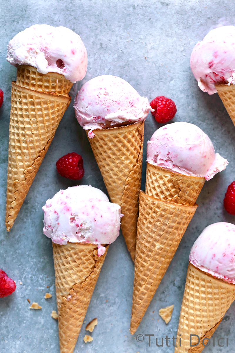 Raspberry Ripple Ice Cream