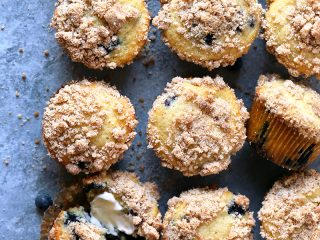 Blueberry Crumb Muffins