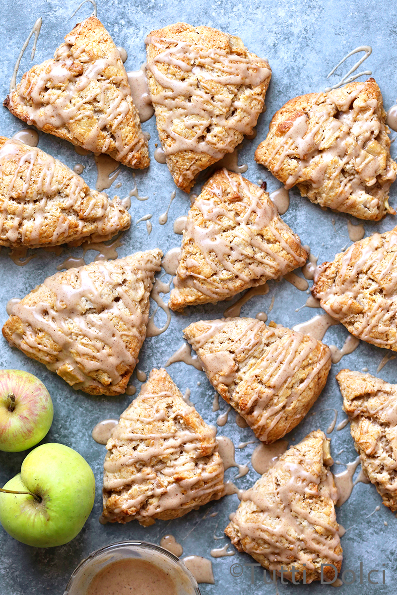 Apple Spice Scones