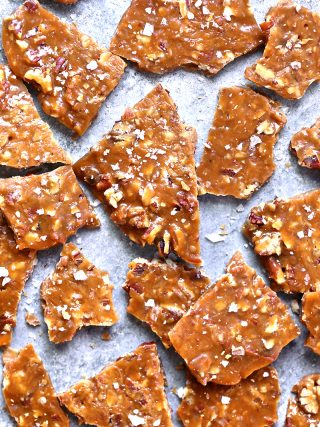 Maple Pecan Brittle
