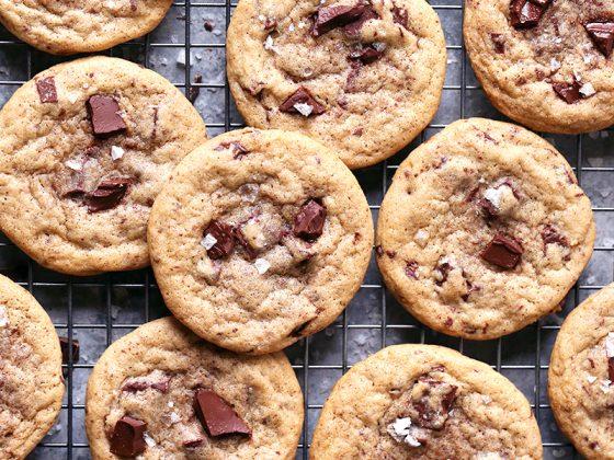 Chai Spice Chocolate Chunk Cookies