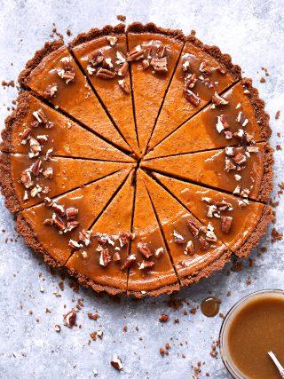Pumpkin Biscoff Tart