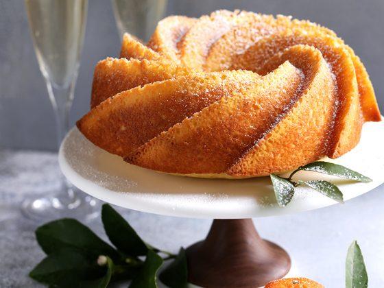 Citrus Champagne Bundt Cake