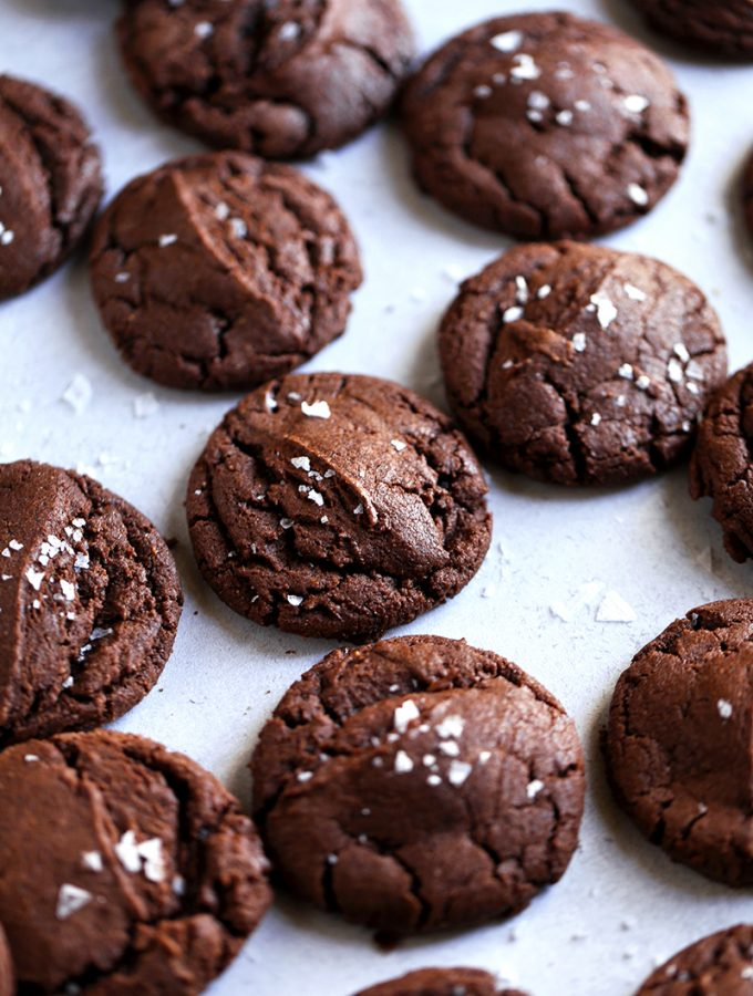 nutella fudge cookies