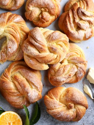 Meyer Lemon Morning Buns