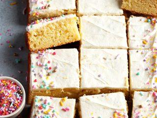 Meyer Lemon Sheet Cake