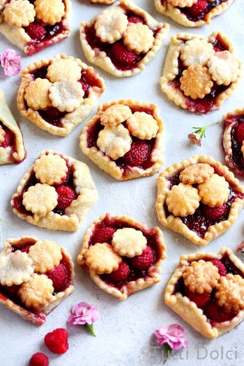 Mini Raspberry Galettes
