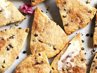 Chocolate Chip Cream Scones