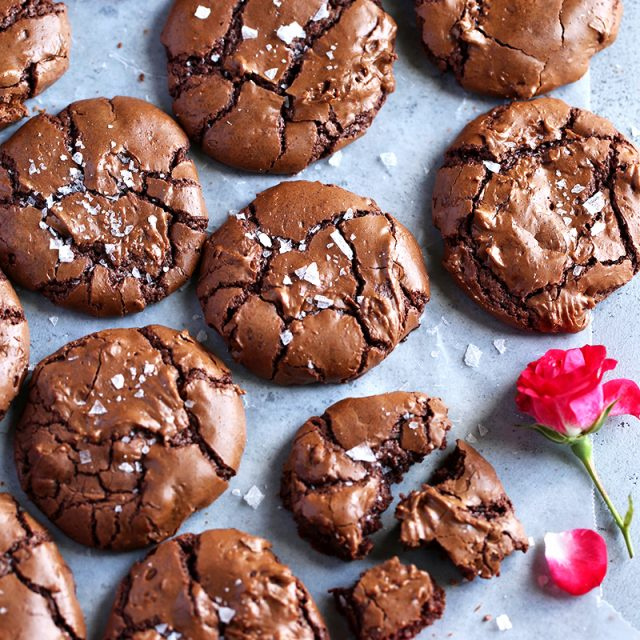 salted brownie cookies tutti dolci
