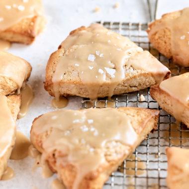 Maple Cream Scones
