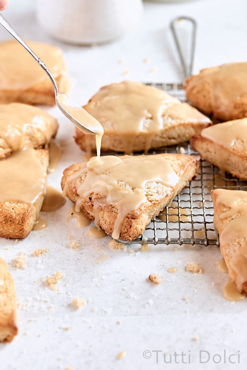 Maple Cream Scones