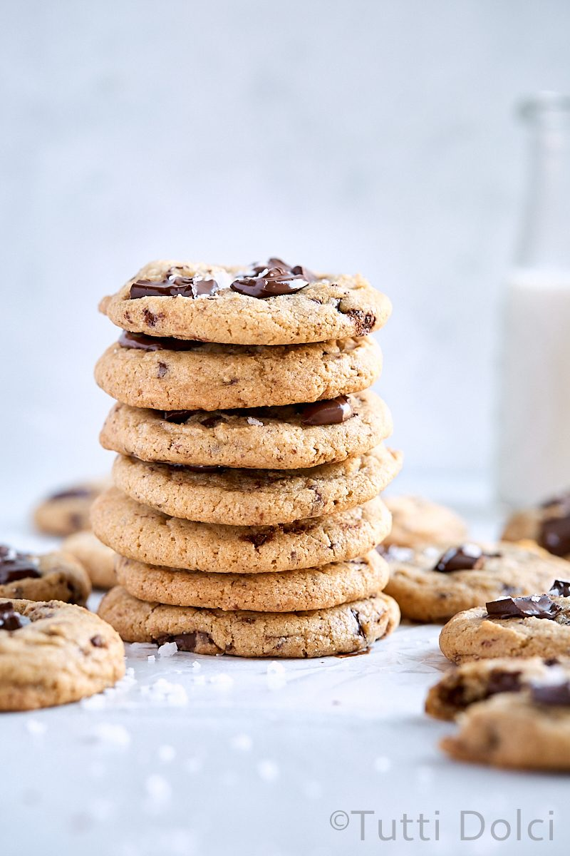 Graham Chocolate Chunk Cookies